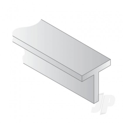 Evergreen 14in (35cm) T-Column .035in (0.88mm) Profiles (4 per pack) 761