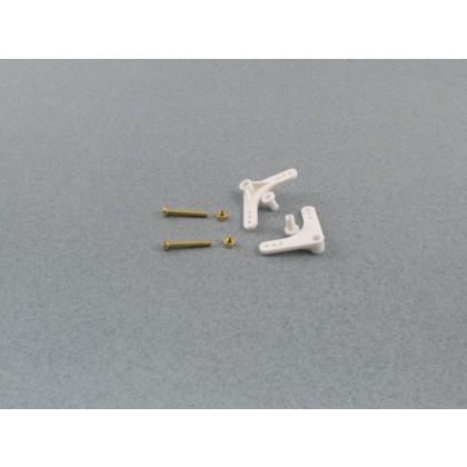 Radio Active 90 deg Bell Crank w/hardware (pk2) RCA110