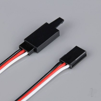Radient Futaba HD Extension Lead with Clip 300mm RDNAC010202