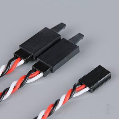 Radient Futaba HD Twisted Y Lead with Clip 150mm RDNAC010244
