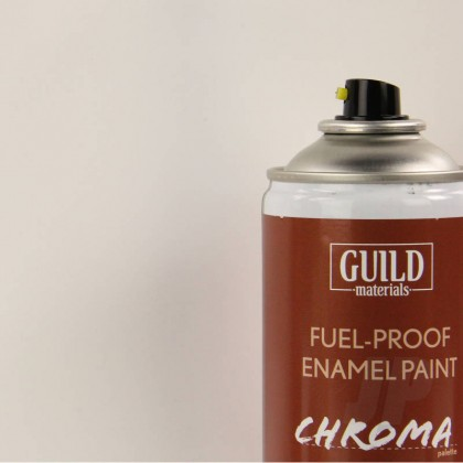 Guild Materials Matt Enamel Fuel-Proof Paint Chroma Clear (400ml Aerosol) GLDCHR6508
