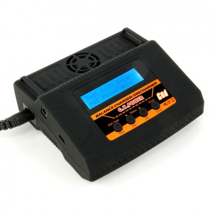 GT Power C6D 50W AC/DC 6A Charger (UK) GTP0006