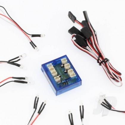 GT Power Control Car LED GTP0026