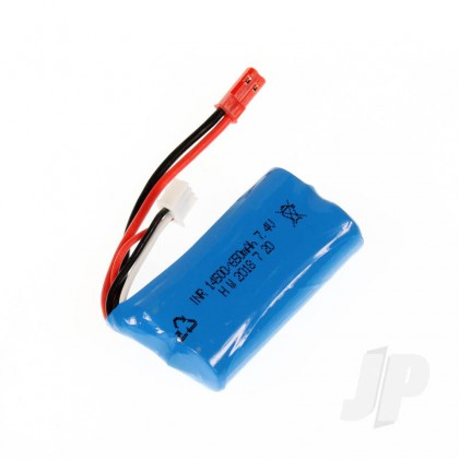 Haiboxing LiIon Battery Pack (7.4V 650mAh) (Hailstorm, Blaster, Gallop) HBX18031