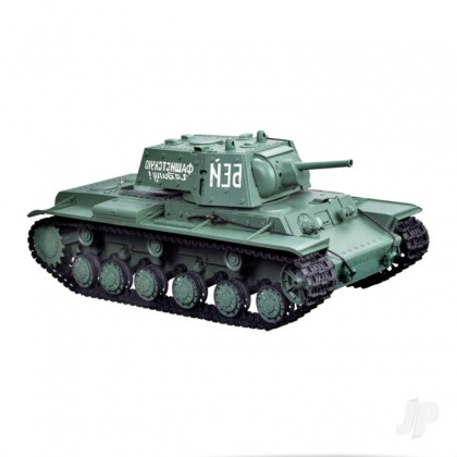 Henglong 1:16 Russian KV-1 with Infrared Battle System (2.4GHz + Shooter + Smoke + Sound) HLG3878-1B