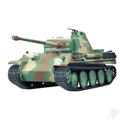 Henglong 1:16 German Panther Type G with Infrared Battle System (2.4GHz + Shooter + Smoke + Sound) HLG3879-1B