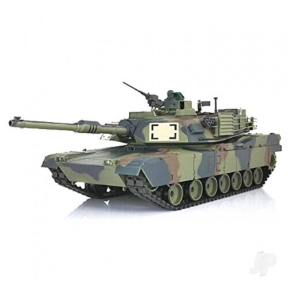Henglong 1:16 US M1A2 Abrams with Infrared Battle System (2.4GHz + Shooter + Smoke + Sound) HLG3918-1B