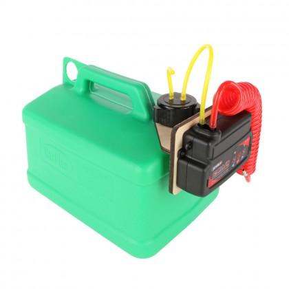 J Perkins Fuel Caddy Electric Fueling System (Green Petrol) 5 Litres JPDA0012