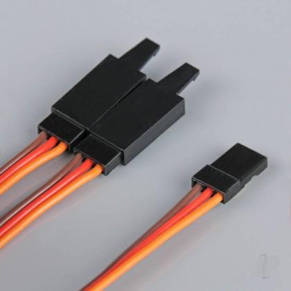 Radient JR HD Y Lead with Clip 300mm RDNAC010243