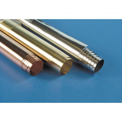 K&S .002in (44ga) 12x30in Stainless Steel Shim/Foil KNS6030