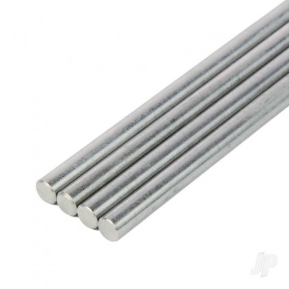 K&S 1/4in Stainless Round Rod (36in long) KNS7140