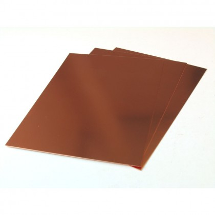K&S .016x7x5in Copper Sheet (3pcs) KNS815054
