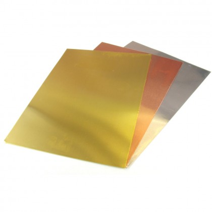 K&S .005x7x5in Brass, Copper, Aluminium FoilPack (3pcs) KNS815058