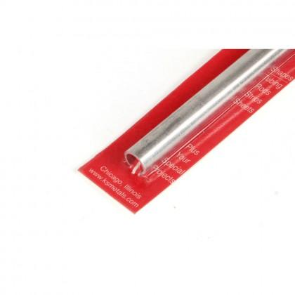 K&S 10x300mm Aluminium Round Tube, .76mm Wall KNS9812