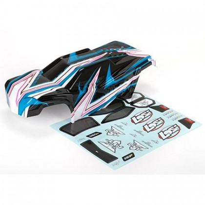 Losi Body Set Painted Blue: TEN MT LOS230018