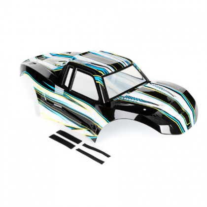 Losi Body Painted Black: MTXL LOS250013