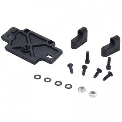 Losi 1/10 Competition Crawler Servo Mounts, Plate & Hardware LOSA4037