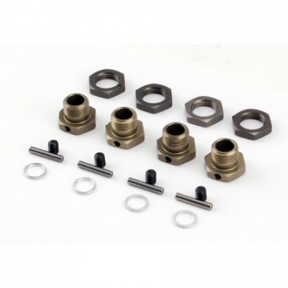 Losi LST/LST2/Muggy 17mm Hex Adaptor Set (4) LOSB3516