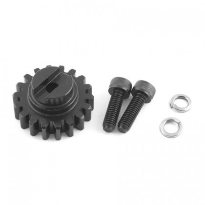 Losi 5ive-T/Mini WRC 18T Pinion Gear, 1.5M with Hardware LOSB5046