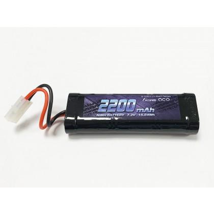 Gens Ace NiMH 7.2V 2200mAh with Tamiya GC6N2200-TM