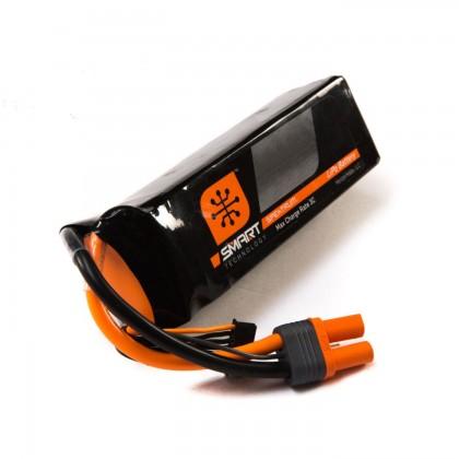 Spektrum 5000mah 6S 22.2V 30C Smart LiPo IC5 SPMX50006S30