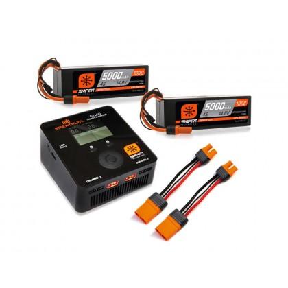 Spektrum Smart Powerstage Bundle 8S 5000mAh 100C IC5 SPMXPS8HCI