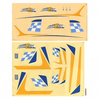 Parkzone Artizan Decal Sheet PKZ6924