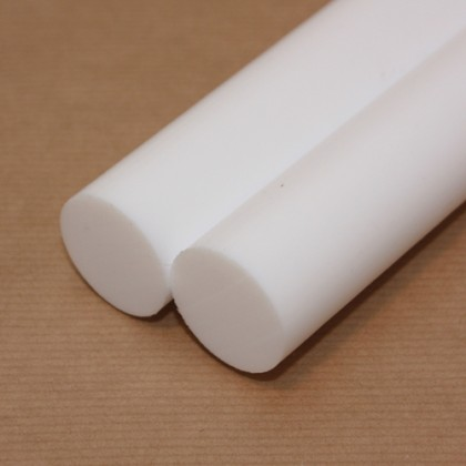 1 metre x 40mm Diameter PTFE Rod PLA035R40D