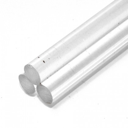 300mm x 12mm Diameter Cast Acrylic Rod PLA050R12A
