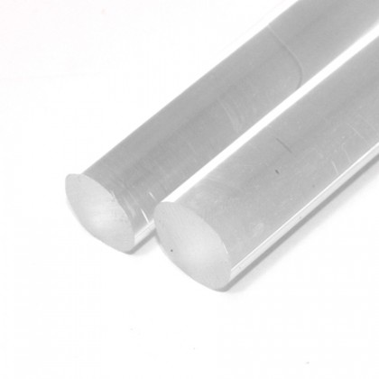 1m x 20mm Diameter Cast Acrylic Rod PLA050R20D