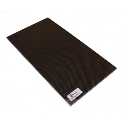 Carbon Fibre/Herex 6mm/Carbon Fibre (300 x 160mm) PT3016CH6