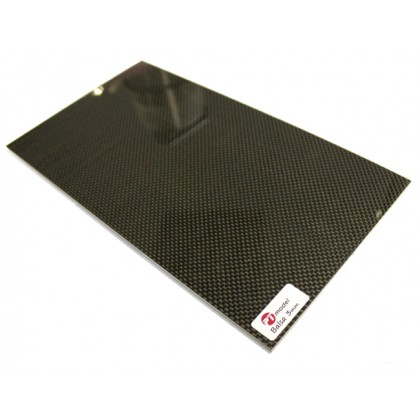 Carbon Fibre/Balsa 3mm/Carbon Fibre (480x290mm) PT4829CB3