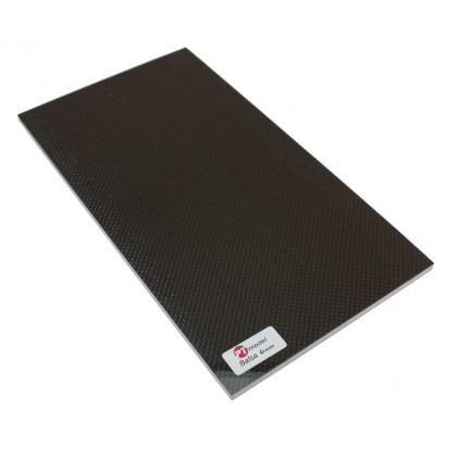 Carbon Fibre/Balsa 6mm/Carbon Fibre (480 x 290mm) PT4829CB6