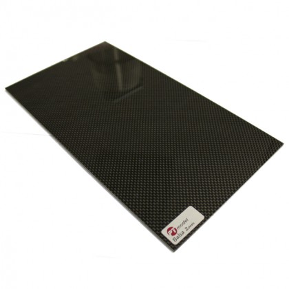 Carbon Fibre/Balsa 2mm/Carbon Fibre (480 x 290mm) PT4829CB