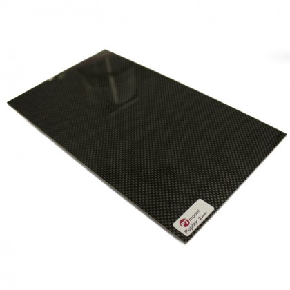 Carbon Fibre/Ply 2mm/Carbon Fibre (480 x 290mm) PT4829P
