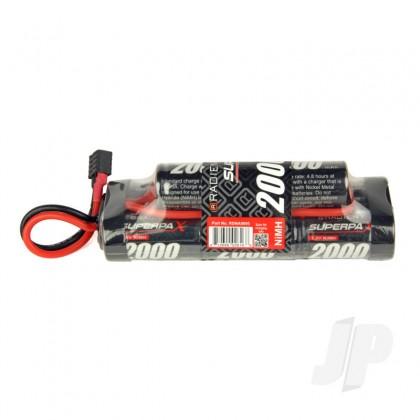 Radient NiMH 9.6V 2000mAh SC 6-2 Hump, HCT RDNA0095