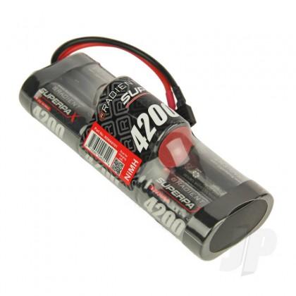 Radient NiMH 8.4V 4200mAh SC 6-1 Hump, HCT RDNA0101