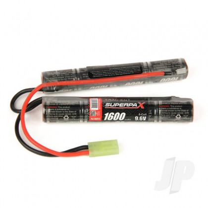 Radient NiMH 9.6V 1600mAh 2/3A Saddle-Stick, mTam RDNA0135