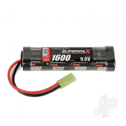 Radient NiMH 9.6V 1600mAh 2/3A Stick, mTam RDNA0136