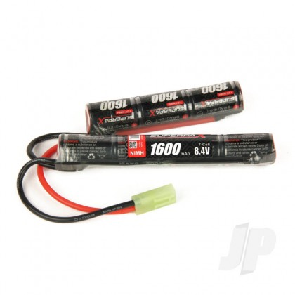 Radient NiMH 8.4V 1600mAh 2/3A Saddle-Stick, mTam RDNA0137