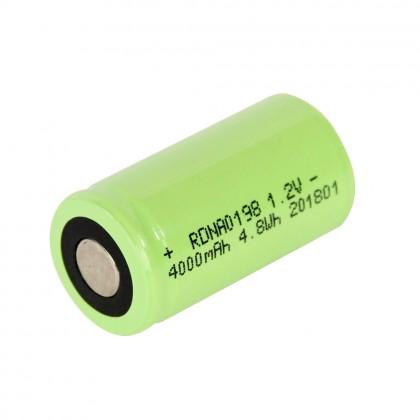 Radient NiMH 1.2V 4000mAh SC SCR, No Tabs, Glow RDNA0198