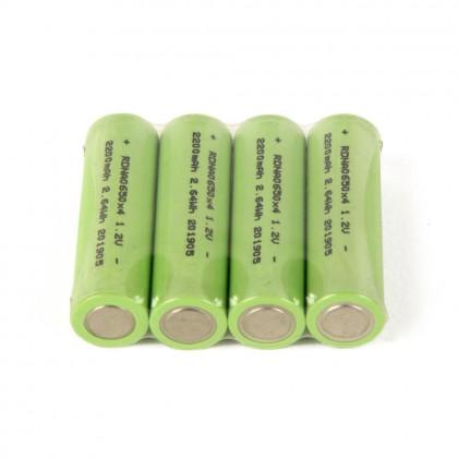 Radient NiMH 1.2V 2200mAh AA Consumer (4pcs) RDNA0650
