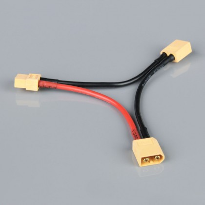 Radient XT60 Series Connector, 14AWG, 100mm RDNAC010028