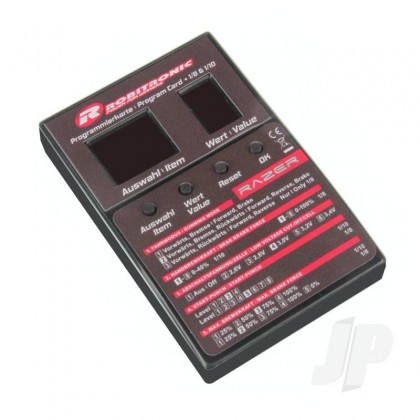 Robitronic Razer ESC LED Program Box (for Ten and Eight) ROBR01269