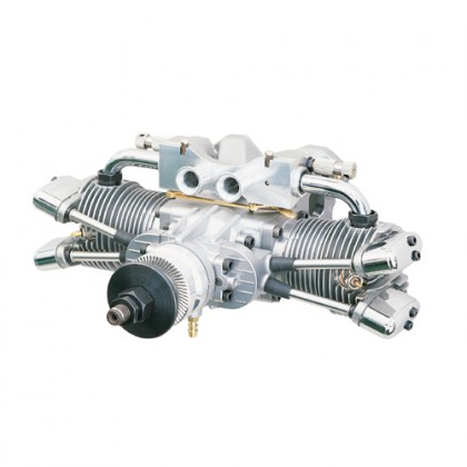 Saito FA-182TD 4-Stroke Dual Plug Twin Glow Engine SAT182TD