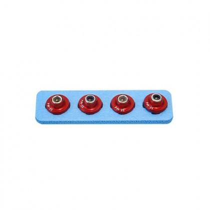 Secraft Wood Lock Nut M4 (Red) SEC313