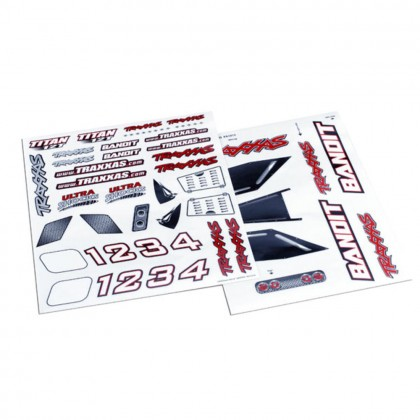 Traxxas Decal sheet Bandit TRX2413X