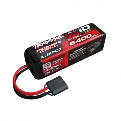 Traxxas 6400mAh 11.1v 3-Cell 25C LiPo Battery TRX2857X
