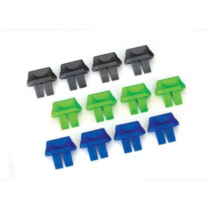 Traxxas Battery charge indicators (green (4pcs) blue (4pcs) grey (4pcs)) TRX2943