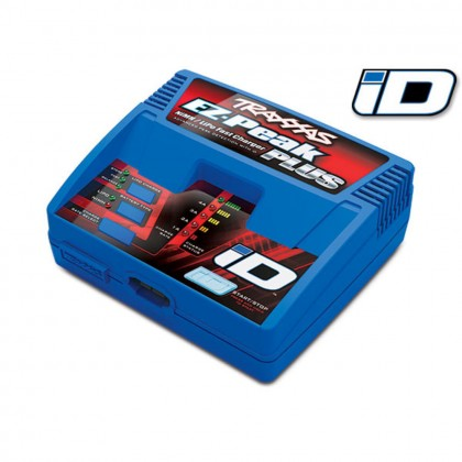 Traxxas Charger EZ-Peak Plus 4 amp NiMH/LiPo with iD Auto Battery Identification (for United Kingdom) TRX2970TX